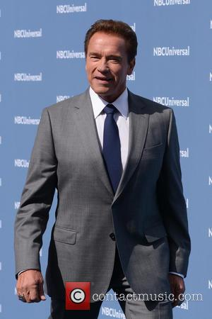 Arnold Schwarzenegger - NBC Universal 2016 Upfront Presentation - Arrivals - New York, New York, United States - Monday 16th...