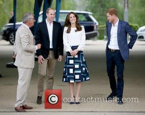 Prince William Duke Of Cambridge, Catherine Duchess Of Cambridge and Prince Harry
