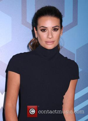 Lea Michele - FOX 2016 Upfront held at Wollman Rink, Central Park - Arrivals at Central Park - New York,...