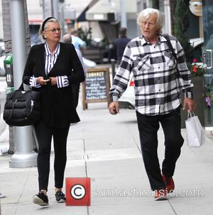 Rutger Hauer - Rutger Hauer and his wife go shopping in Beverly Hills - Los Angeles, California, United States -...