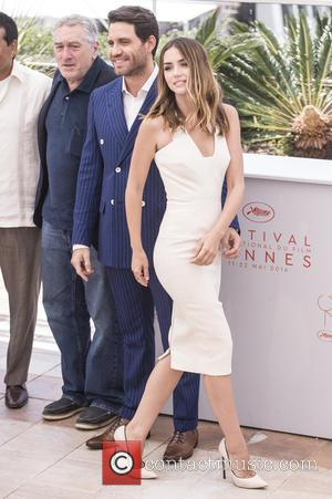 Robert De Niro, Edgar Ramirez , Ana De Armas - 69th Cannes Film Festival - 'Hands of Stone' - Photocall...
