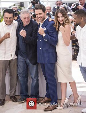 Roberto Duran, Robert De Niro, Edgar Ramirez and Ana De Armas