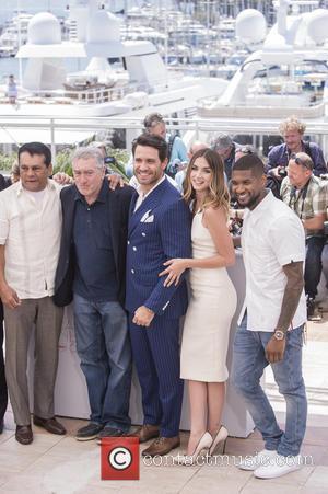 Roberto Duran, Robert De Niro, Edgar Ramirez, Ana De Armas and Usher Raymond Iv