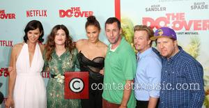 Catherine Bell, Kathryn Hahn, Paula Patton, Adam Sandler, David Spade , Nick Swardson - Premiere of Netflix's 'The Do Over'...
