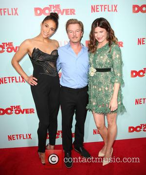 Paula Patton, David Spade , Kathryn Hahn - Premiere of Netflix's 'The Do Over' held at Regal LA LIVE Stadium...