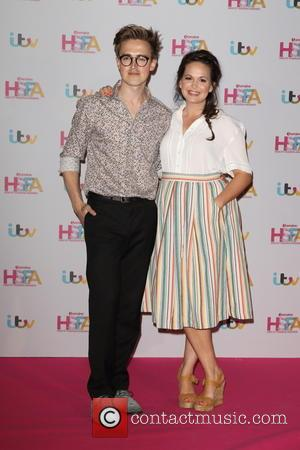 Tom Fletcher , Giovanna Fletcher - Lorraine High Street Fashion Awards at the Grand Connaught Rooms, London at Grand Connaught...
