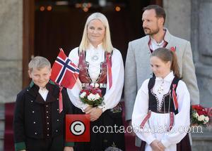 Crown Princess Mette- Marit, Crown Prince Haakon, Princess Ingrid Alexandra and Prince Sverre Magnus