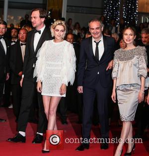 Lars Eidinger, Kristen Stewart and Olivier Assayas