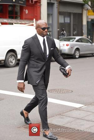 Terry Crews - Terry Crews walking about in Soho - Manhattan, New York, United States - Tuesday 17th May 2016