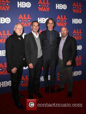 Robert Schenkkan, Darryl Frank, Jay Roach and Justin Falvey