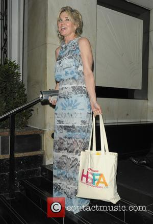 Anthea Turner - Lorraine Kelly's High Street Fashion Awards held at the Grand Connaught Rooms - Departures - London, United...