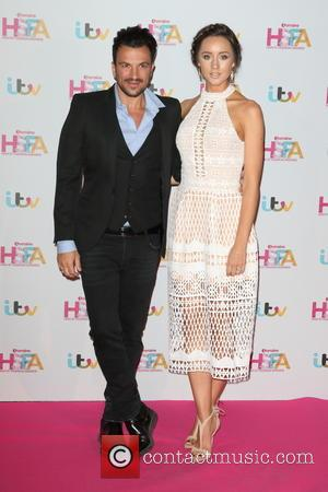 Peter Andre , Emily MacDonagh - Lorraine High Street Fashion Awards at the Grand Connaught Rooms, London at Grand Connaught...