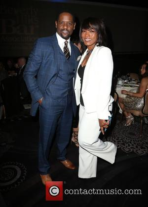 Blair Underwood and Angela Bassett