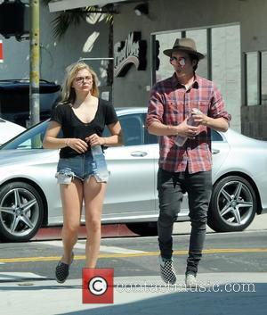 Chloe Moretz , Brooklyn Beckham - Chloe Grace Moretz and boyfriend Brooklyn Beckham stepping out of Studio City Tattoo &...