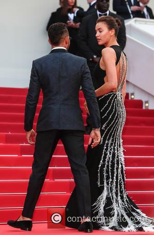 Irina Shayk and Lewis Hamilton