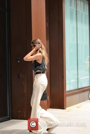 Gigi Hadid - Gigi Hadid out and about in Soho - Manhattan, New York, United States - Thursday 19th May...