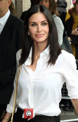 Courteney Cox - Ivor Novello Awards at the Grosvenor House Hotel, Park Lane, London at Grosvenor House Hotel, Park Lane,...