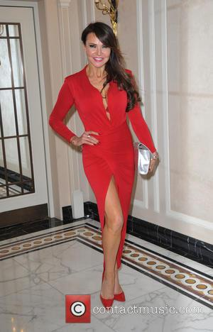 Lizzie Cundy - Care After Combat Ball at the Dorchester Hotel at Dorchester Hotel London, Dorchester Hotel - London, United...
