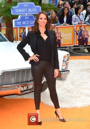 Andrea McLean - UK premiere of 'The Nice Guys' held at Odeon Leicester Square - Arrivals at Odeon Leicester Square...