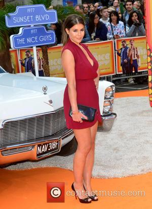 Imogen Thomas - UK premiere of 'The Nice Guys' held at Odeon Leicester Square - Arrivals at Odeon Leicester Square...