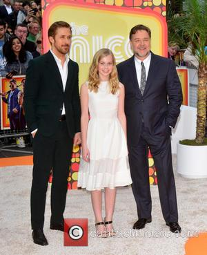 Russell Crowe, Ryan Gosling and Angourie Rice