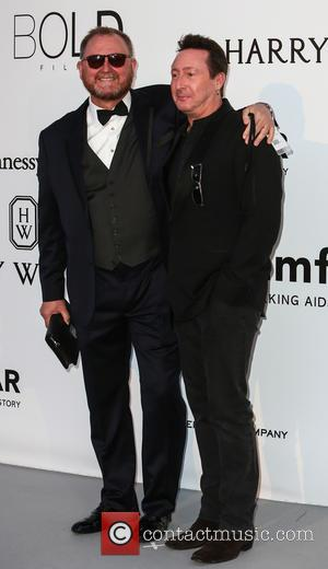 Julian Lennon and Kevin Frost