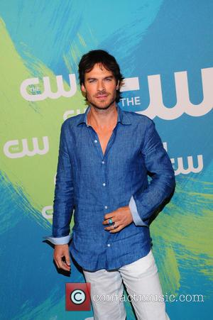 Ian Somerhalder - The CW Network's 2016 Upfront - Arrivals - NY, New York, United States - Thursday 19th May...