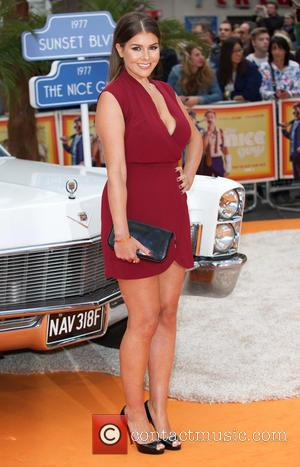 Imogen Thomas - 'The Nice Guys' U.K. Premiere - Arrivals at Odeon, Leicester Square - London, United Kingdom - Thursday...