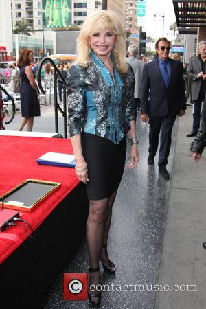 Loni Anderson - Deidre Hall Honored With Star On The Hollywood Walk Of Fame at Hollywood, Walk Of Fame -...