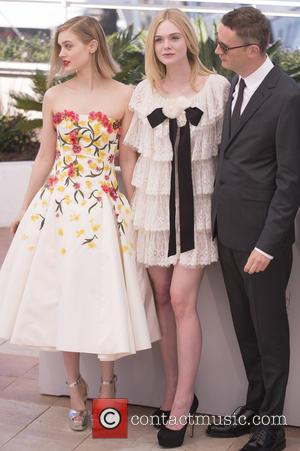 Bella Heathcote, Elle Fanning and Nicolas Winding Refn
