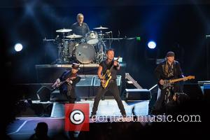 Bruce Springsteen, Steven Van Zandt, Max Weinberg, Jake Clemons and Nils Lofgren