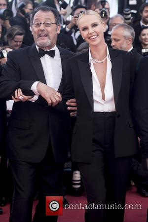 Jean Reno and Charlize Theron