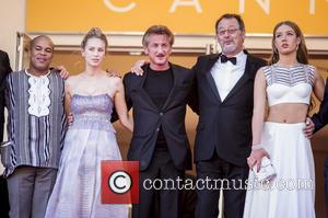 Dylan Frances Penn, Sean Penn, Jean Reno and Adele Exarchopoulos