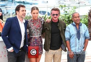 Javier Bardem, Adele Exarchopoulos, Sean Penn and Zubin Cooper