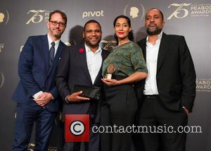 Jonathan Groff, Anthony Anderson, Tracy Ellis-ross and Kenya Barris