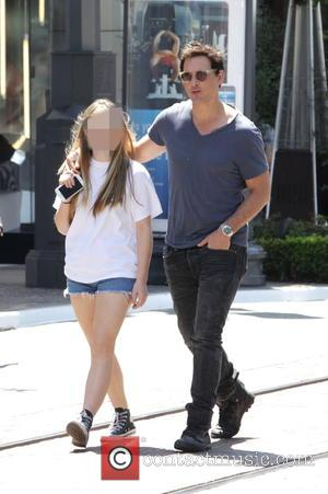 Peter Facinelli , Lola Facinelli - Peter Facinelli goes shopping at The Grove in Los Angeles with his daughter Lola...