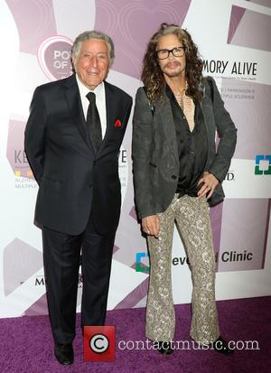 Tony Bennett and Steven Tyler