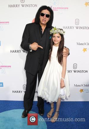 Gene Simmons and Angelina Jordan