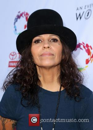 Linda Perry - An Evening With Women - Arrivals at Hollywood Palladium - Palladium, California, United States - Saturday 21st...