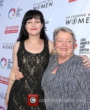 Pauley Perrette and Lorri L. Jean
