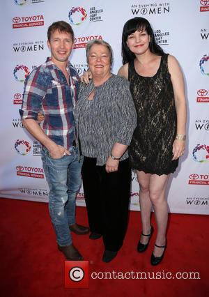 James Blunt, Pauley Perrette and Lorri L. Jean