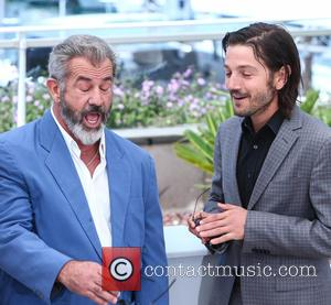 Mel Gibson and Diego Luna