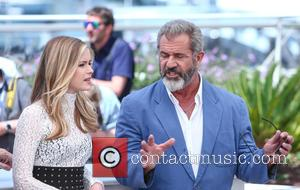 Erin Moriarty and Mel Gibson