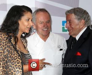 Wolfgang Puck and Tony Bennett