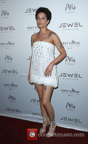 Halsey - Jewel Nightclub Grand Opening Weekend at Aria Las Vegas at Jewel Nightclub - Las Vegas, Nevada, United States...