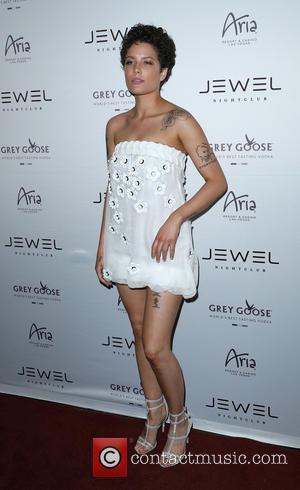 Halsey - Jewel Nightclub Grand Opening Weekend at Aria Las Vegas at Jewel Nightclub - Las Vegas, Nevada, United States...