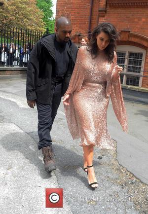 Kim Kardashian , Kanye West - Kim Kardashian and Kanye West attend The Vogue 100 Festival: Fashion, Friendship and Fabulous...