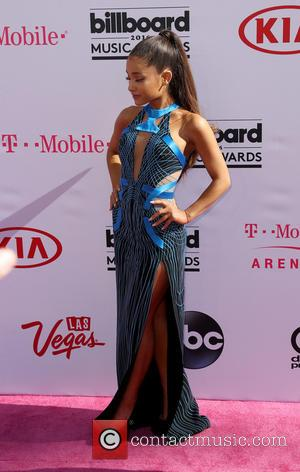 Ariana Grande - 2016 Billboard Music Awards arrivals at T-Mobile Arena Las Vegas at T-Mobile Arena, Billboard Music Awards -...