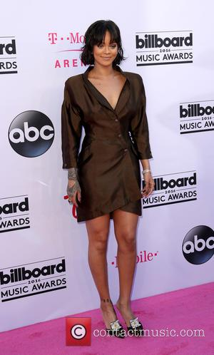 Rihanna - 2016 Billboard Music Awards arrivals at T-Mobile Arena Las Vegas at T-Mobile Arena, Billboard Music Awards - Las...