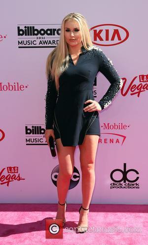 Lindsey Vonn - 2016 Billboard Music Awards Arrivals at T-Mobile Arena Las Vegas at T-Mobile Arena, Billboard Music Awards -...
